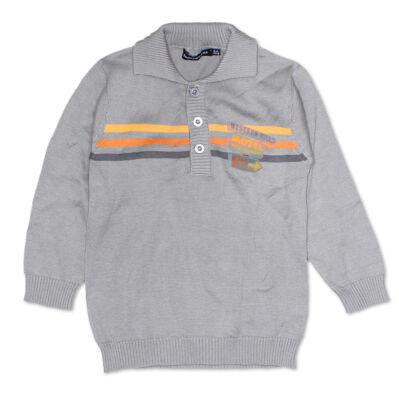 Tout compte fait szürke pulóver (98-104)