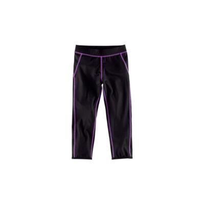 H&M fekete-lila sport nadrág (98-104)
