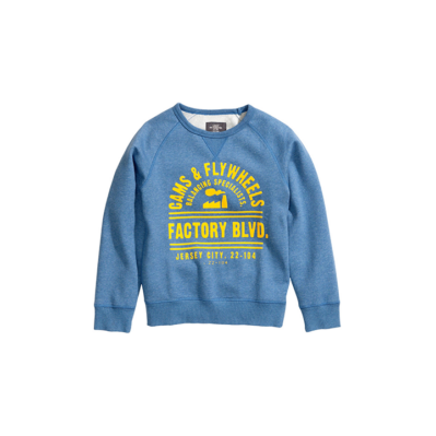 H&M kék pulóver (110-116)