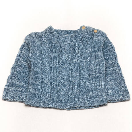 Basic pulóver (80)