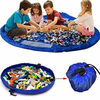Játéktartó szőnyeg (nagy) Kék