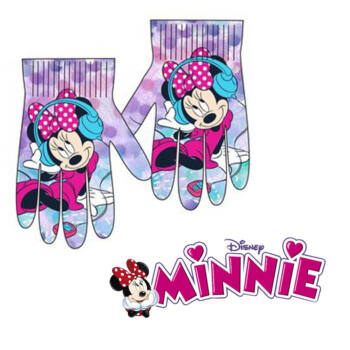 Disney Minnie kesztyű (lila)