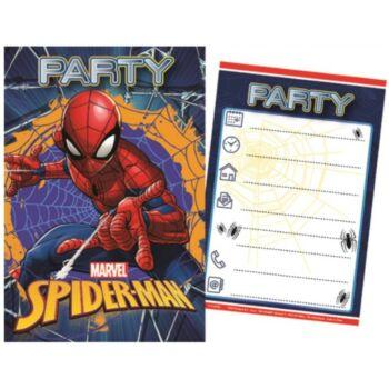 Pókember Party Meghívó