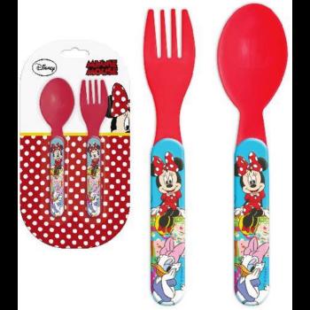 Disney Minnie evőeszköz készlet - 2 darabos