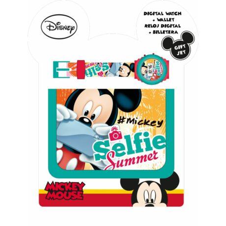 Digitális karóra és pénztárca Disney - Mickey