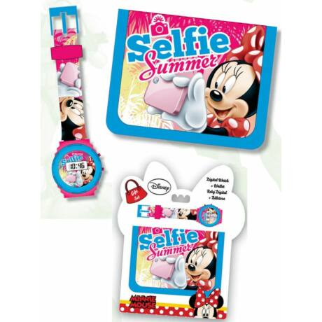 Digitális karóra és pénztárca Disney - Minnie