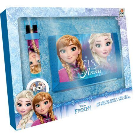 Disney - Jégvarázs Digitális karóra és pénztárca