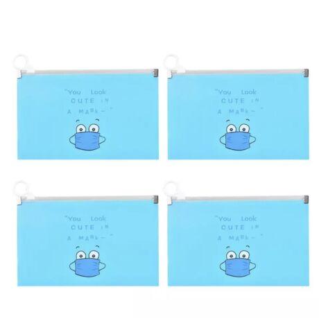 Maszk tartó tok (Kék)