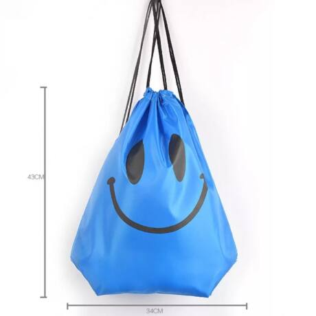 Smile tornazsák (kék)