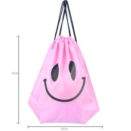 Smile tornazsák (rózsaszín)