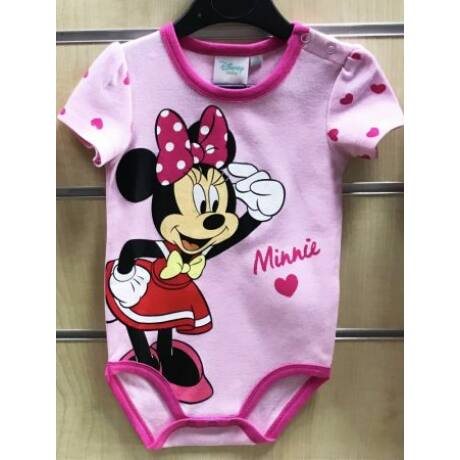 Disney Minnie rövid ujjú body (74-80)