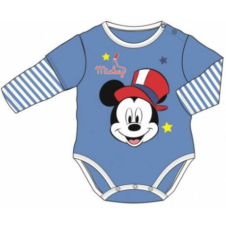 Disney Mickey hosszú ujjú body (62-68)