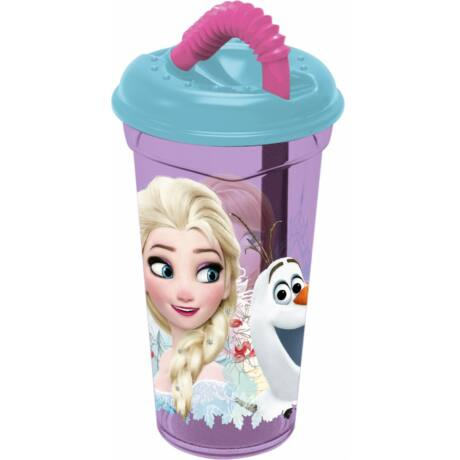 Disney Jégvarázs szívószálas pohár