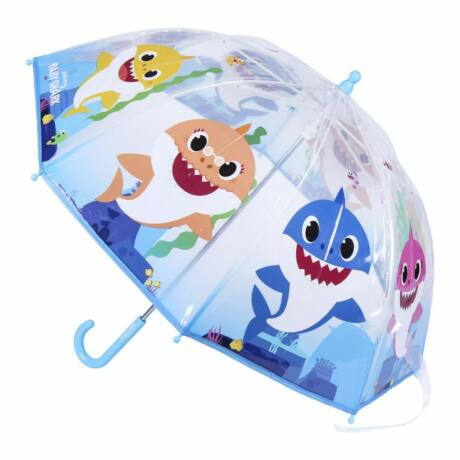 Baby Shark Gyerek átlátszó esernyő