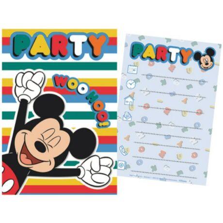 Disney Mickey Party Meghívó