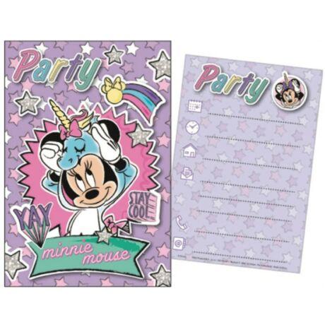 Disney Minnie Party Meghívó