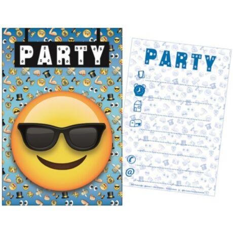 Emoji Party Meghívó