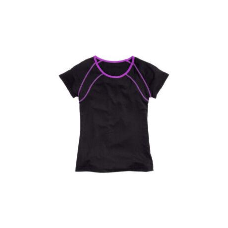 H&M fekete-lila sport póló (92)